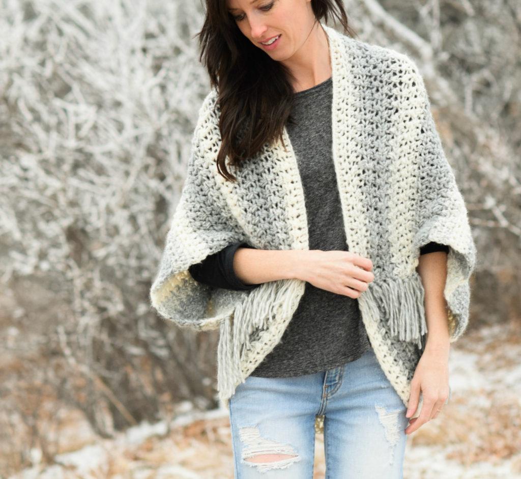 Como hacer un chal a crochet paso a paso - Como hacer un estor enrollable paso a paso ...