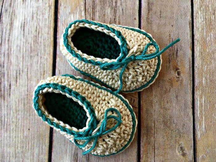 Patron para tejer zapatos a crochet para bebe de 0 a 6 meses