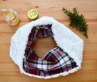 Como hacer una bufanda doble vista paso a paso