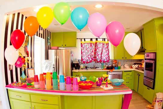 mesa decorada fiesta tematica arcoiris02