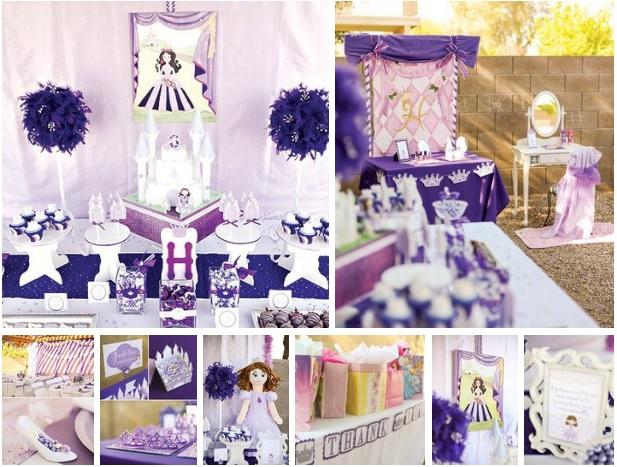 Cumpleaños decorado de Princesa Sofia03