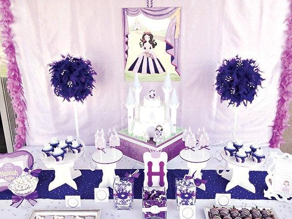 Cumpleaños decorado de Princesa Sofia06