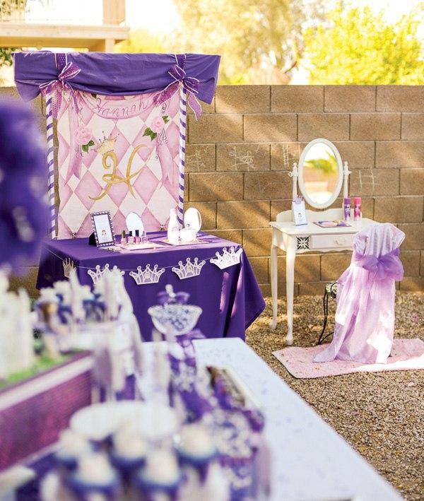 Cumpleaños decorado de Princesa Sofia07