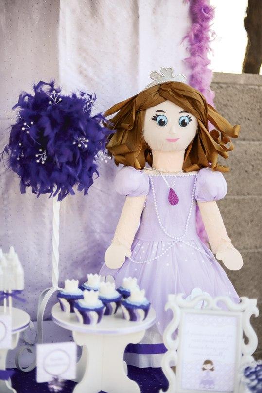 Cumpleaños decorado de Princesa Sofia09