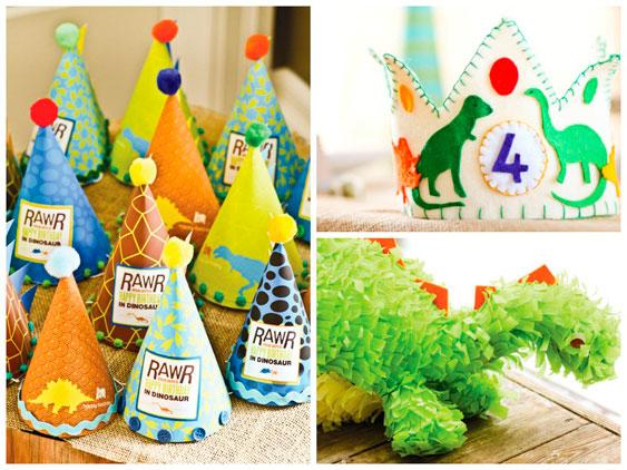 Decoración para fiesta temática dinosaurios02