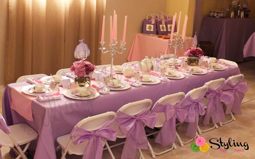 como decorar una mesa de dulces de princesita sofia06