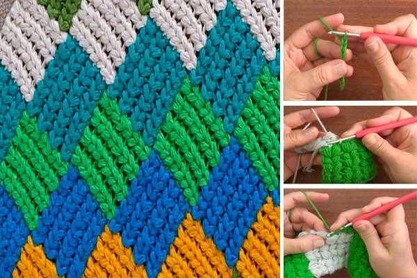 como-hacer-punto-entrelac-trenzado-en-crochet