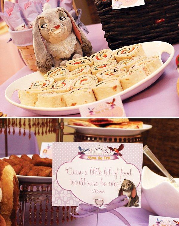 decoracion de princesa sofia para cumpleaños10