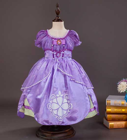 vestido de princesa sofia original01