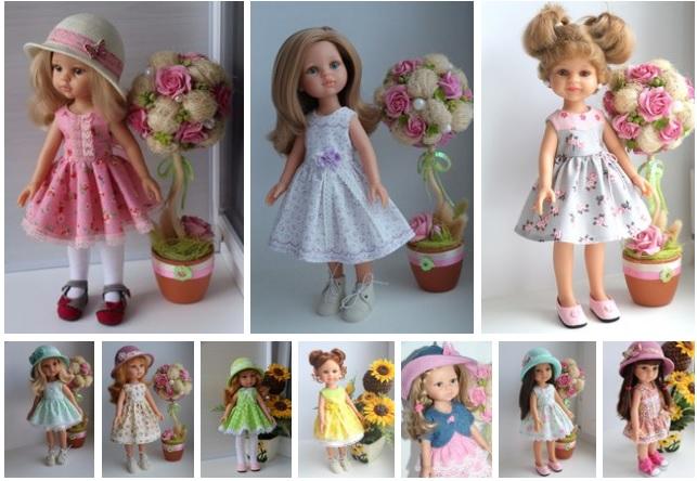 10 hermosos vestidos para muñecas modelos011