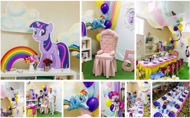 Decoracion de Fiesta de Cumpleaños de My Little Pony