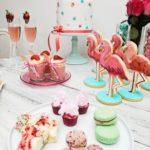 Decoracion para fiesta tematica flamingos03