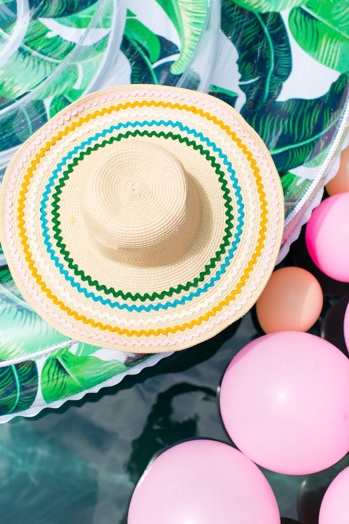 Como decorar un sombrero con listones para este verano