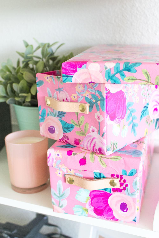 Como hacer un organizador con cajas recicladas