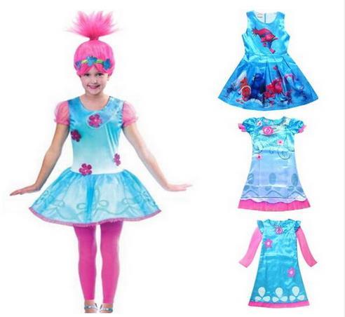 10 Disfraces de poppy trolls para niñas