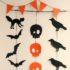 Como hacer guirnaldas de papel para halloween paso a paso