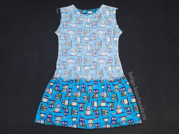 Como hacer un vestido para niña con patrones