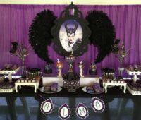 Ideas para decorar una fiesta con el personaje de Malefica