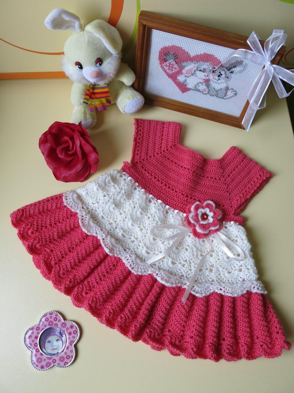 Vestidos de ganchillo para niñas