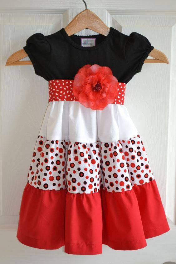16 Hermosos Vestidos Para Niña