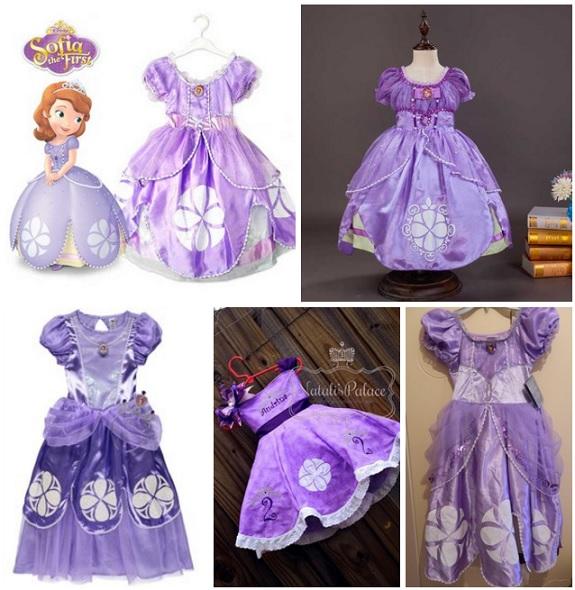 Vestido De Princesa Sofia Original