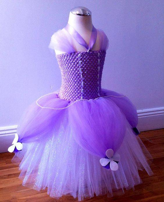 vestidos de la princesa sofia para cumpleaños
